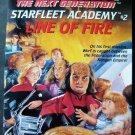 Star Trek Next Generation Star Fleet Academy #2 Line of Fire Book 1993