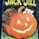 Jack & Jill Childrens Magazine Oct 1966 Halloween Cover Wrigley Gum Zoo Pop Up