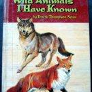 Wild Animals I Have Known Book by E Seton Whitman 1961 #1619