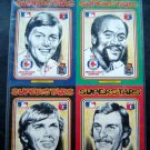 1976 Boston Red Sox 6 Superstars Art Cards by Charles Linnett MIP Rice Fisk Lee