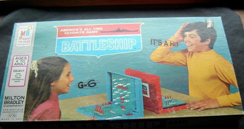 Battleship Strategy Naval War Game 1971 Milton Bradley