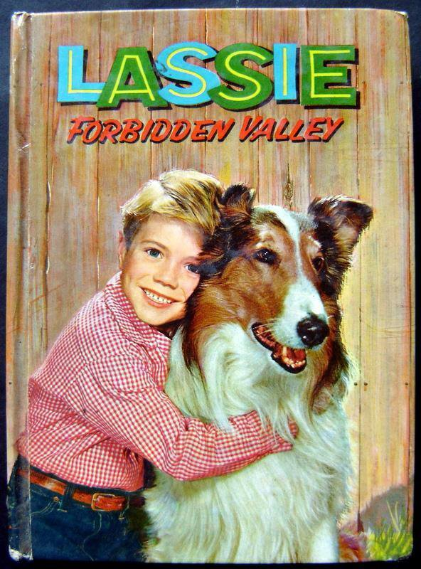 Lassie Forbidden Valley Book Whitman 1959 TV Edition HC # 1502