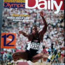 1996 Atlanta Olympics Daily SPORTS ILLUSTRATED Day # 12 Carl Lewis Cover