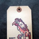 Vintage Conkey's Poultry Remedies Tag with Wire Attachment