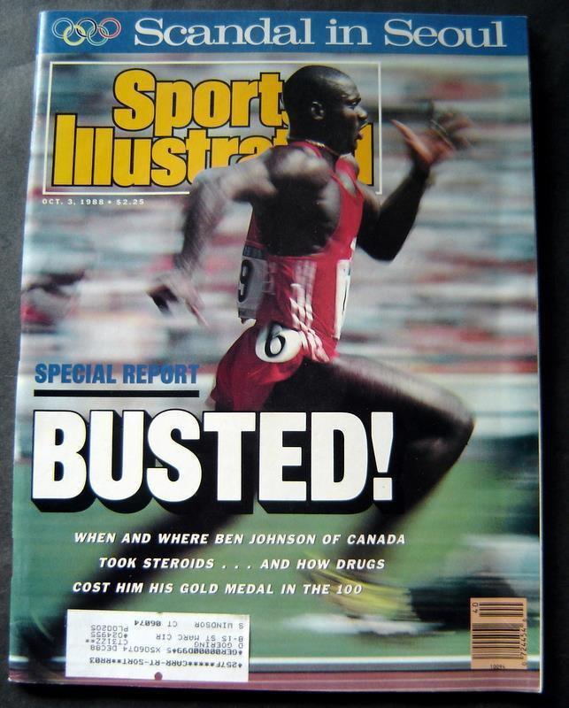 Sports Illustrated Magazine Oct 3, 1988 Seoul Olympics Ben Johnson Track Cover