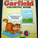 A Day in the Life of Garfield Coloring Book 1982 Happy House 48 Pages Partially