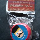 FAO Schwarz Wooden YoYo Mint in Package Nutcracker Soldier &  Bear Design