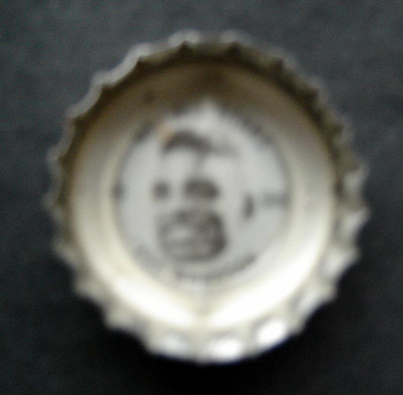 1960's Coke Bottle Cap Football NFL All Stars Abe Woodson 49ers Cardinals