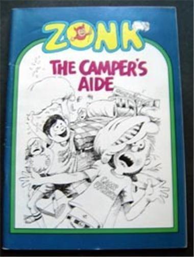 Zonk Magazine The Camper's Aide 1980 Humorous Cartoon Rare