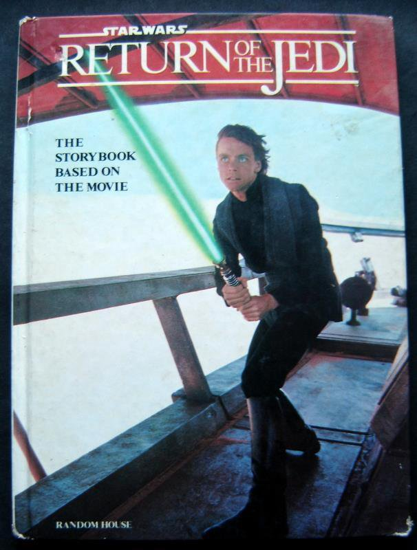 Star Wars Return of the Jedi Book Hardcover 1983 Storybook Based on Movie