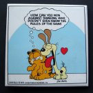 "Garfield the Cat Tile Plaque Doesn""t Even Know the Rules Jim Davis by Enesco"