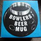 Vintage Novelty Bowlers Beer Mug 1968 in Original Box