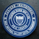 1960 Eastern Invitational Pistol Tournament Thames River Ct Gun Club Patch