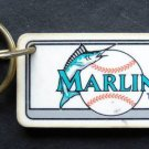 Florida Marlins Plastic Key Chain Tag Express MLB 1995 2 1/4""