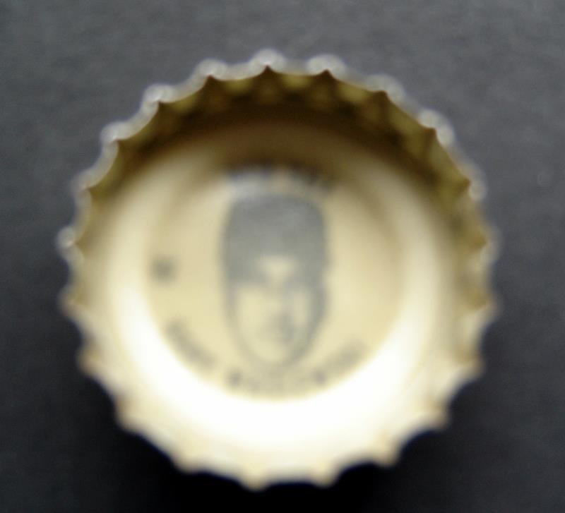 1960's Coke Bottle Cap Baseball MLB Gary Waslewski Boston Red Sox
