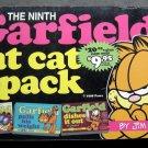 The Ninth Garfield Fat Cat Book 3 Pack # 25 26 27 by Jim Davis 1998 Ballantine