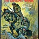 The Great War Book Real Life Stories Series World War 1 Whitman 1965 HC # 1579