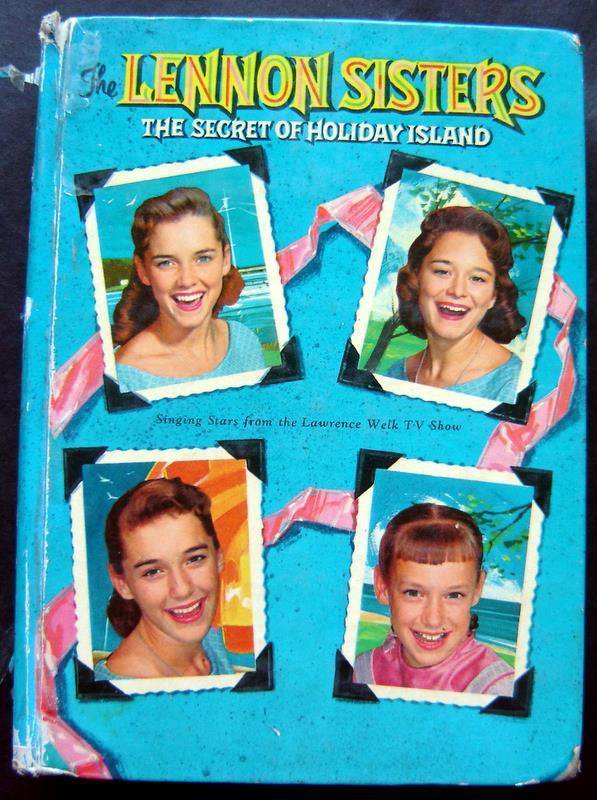 The Lennon Sisters Secret of Holiday Island Book Whitman 1960 TV HC # 1544