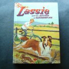 Lassie & the Mystery at Blackberry Bog Whitman 1956 TV Edition HC