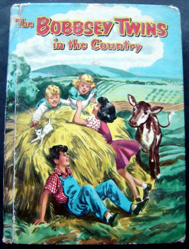 The Bobbsey Twins in the Country Book Whitman 1953 HC # 1530