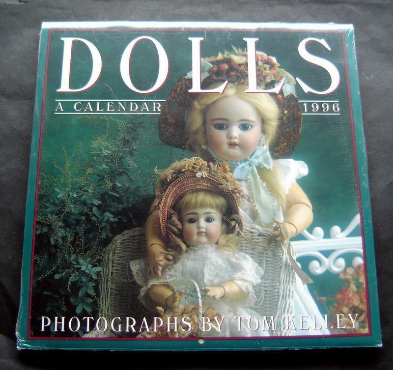 Dolls Calendar 1996 Photographs by Tom Kelley Workman Pub Sealed