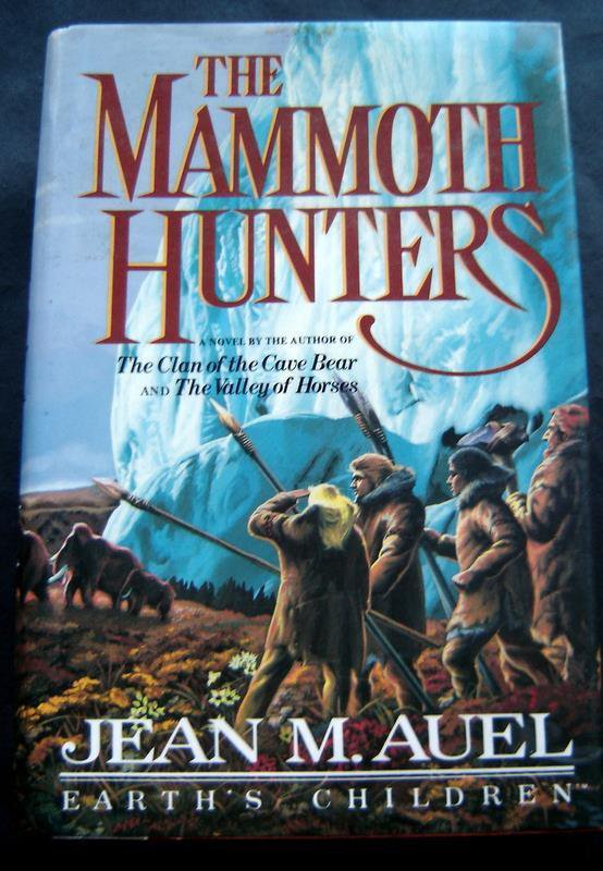 The Mammoth Hunters Book by Jean Auel 1985 Hardcover with DJ