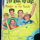 The Real McCoys and Danger at the Ranch Book Whitman 1961 TV Edition HC # 1577