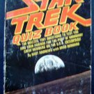 Star Trek Quiz Book 1001 Trivia Teasers for Trekkies 1977 by Bart Andrews