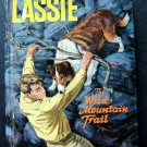Lassie The wild Mountain Trail Book Whitman 1966 TV Edition HC #1513