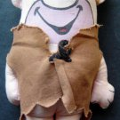 "Barney Rubble The Flintstones 6"" Plush Stuffed Doll by Knickerbocker"