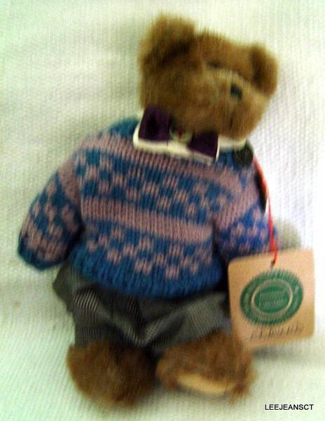 """Boyds Bear Edmund Archive Collection with Tags Retired 1990-1996 8"""""""