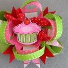 Cupcake Birthday Boutique Bow