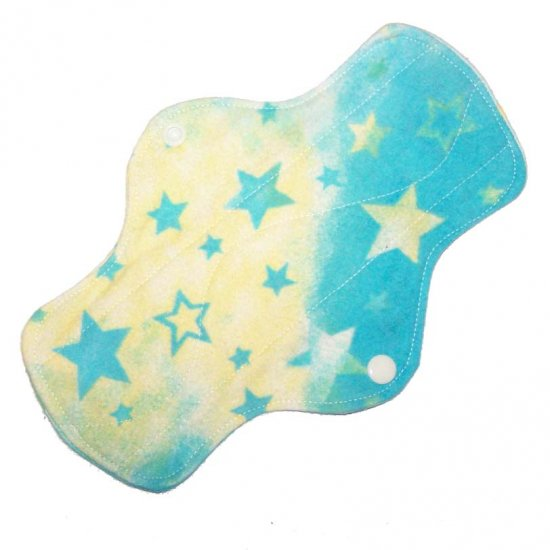 "Cloth Pantyliner 9"" Stars"