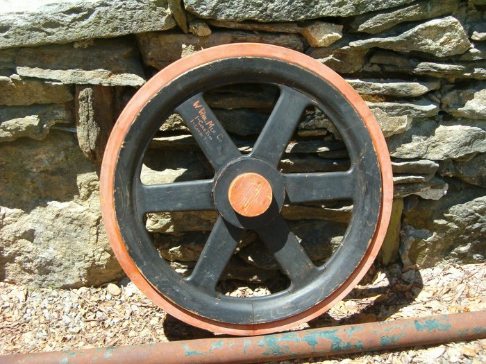 Antique Wood Casting Die fr: West Warren Machine Co. Warren ,Ma.