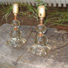 Vintage Pair of Budoir Lamps