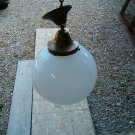 1930's Brass Cieling Lamp