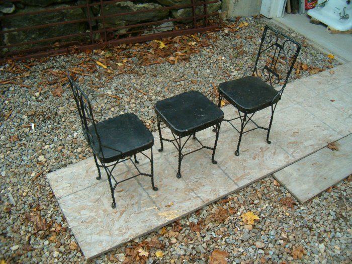 Wrought Iron Childs Play Set