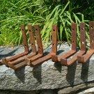 Cast Iron Barn Bracket Lot
