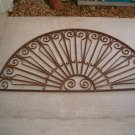 Architectural Cast Iron Half Round