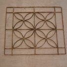 Wrought Iron Decorative Grille