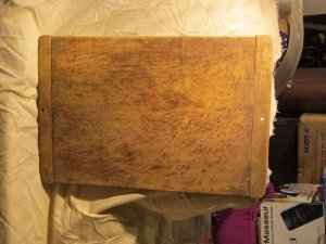 Vintage Bakers Bread Board