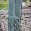 Large Antique Exterior Set of Window Shutters/Blinds