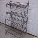 Vintage Wire Metal Display Rack