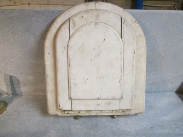 Vintage Wood Toilet Seat