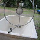 Vintage Circle Frame Bar & Shower Head