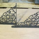 Old Cast Iron Brackets in Star Design