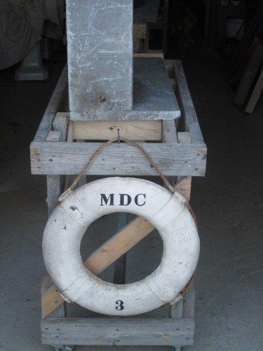 MDC life saving Ring from boat 3