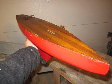 Vintage Pond Boat/Sailboat