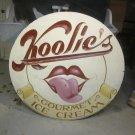 Koolic's Ice Cream Sign