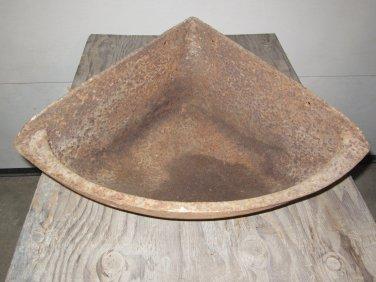Antique cast Iron horse Corner feeder